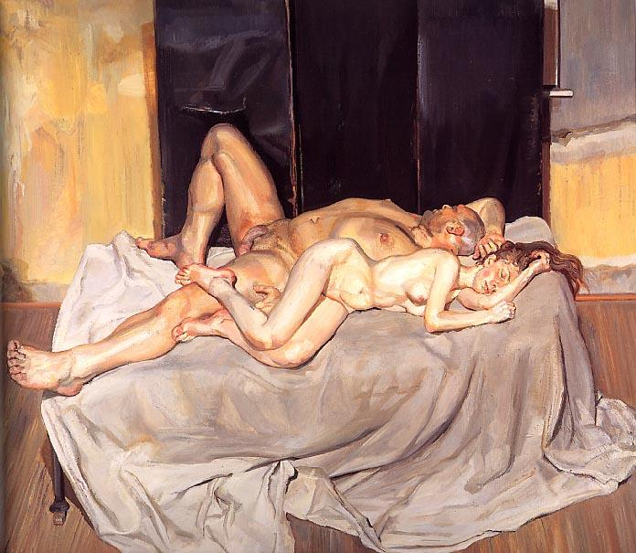 And the Bridegroom - Lucian Freud