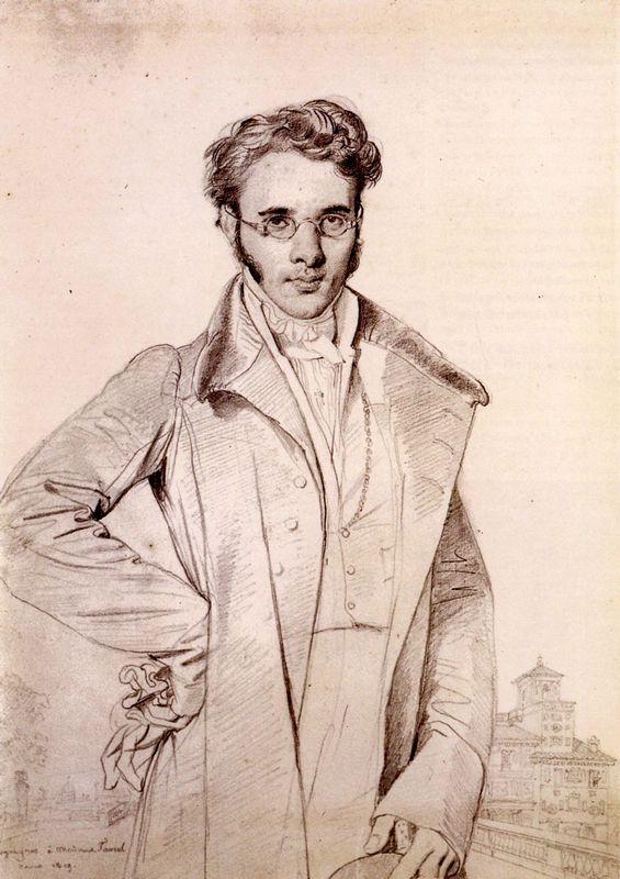 Andre Benoit Barreau, called Taurel - Jean Auguste Dominique Ingres