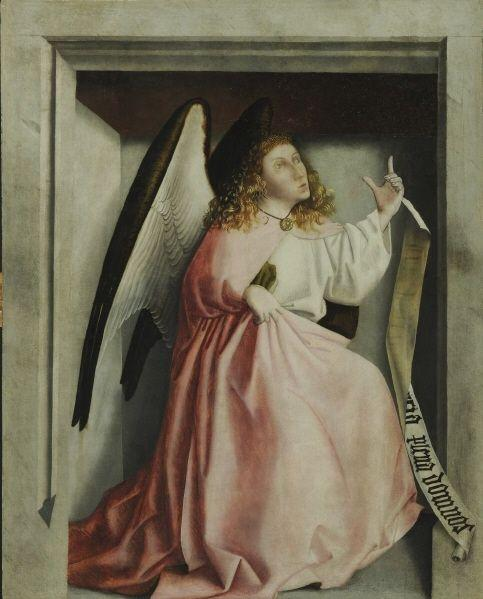 Angel of Annunciation  - Konrad Witz