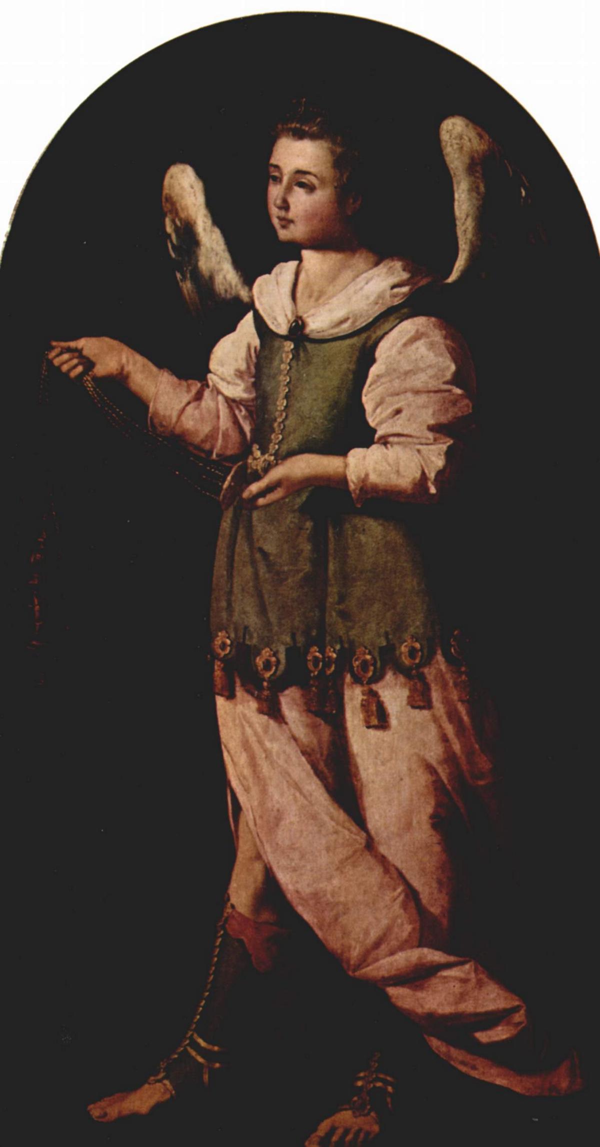 Angel with Incense - Francisco de Zurbaran