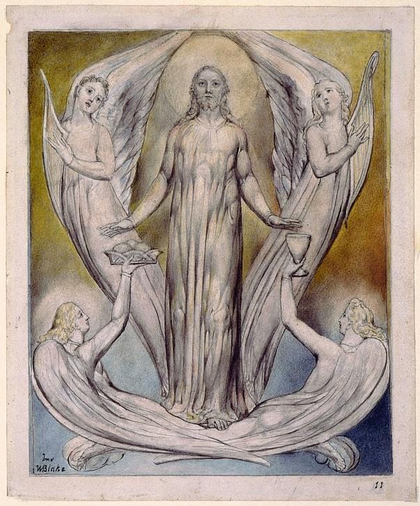 Angels Ministering to Christ - William Blake