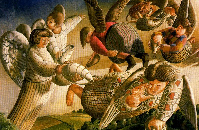Angels of the Apocalypse - Stanley Spencer