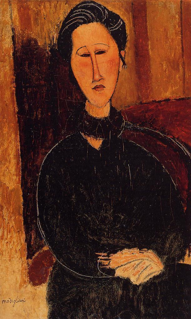 Anna (Hanka) Zabrowska - Amedeo Modigliani