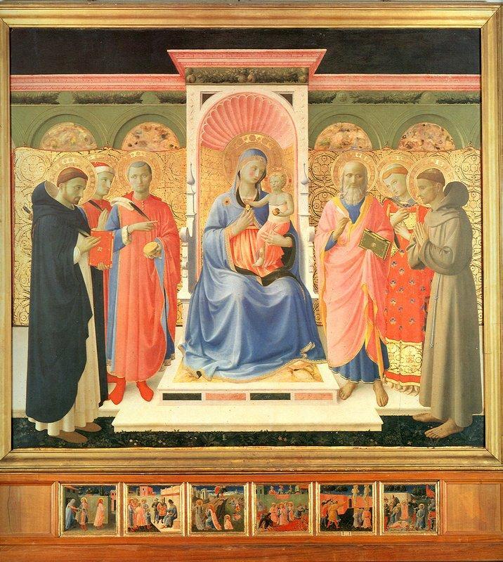Annalena Altarpiece  - Fra Angelico