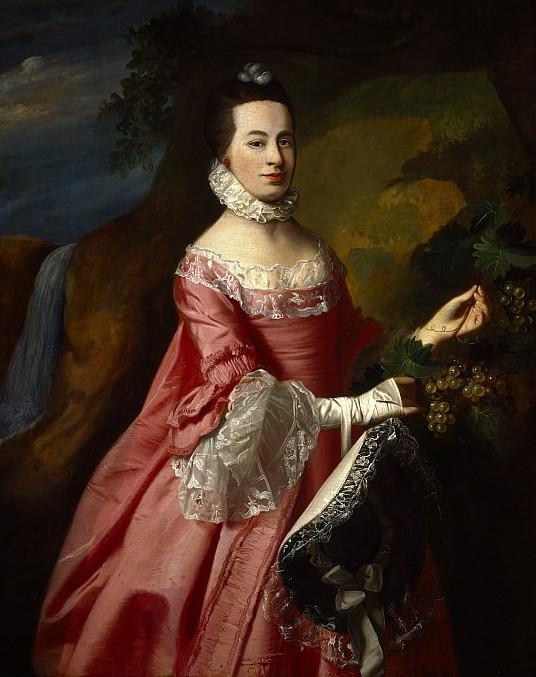 Anne Erving, Mrs.Duncan Stewart - John Singleton Copley