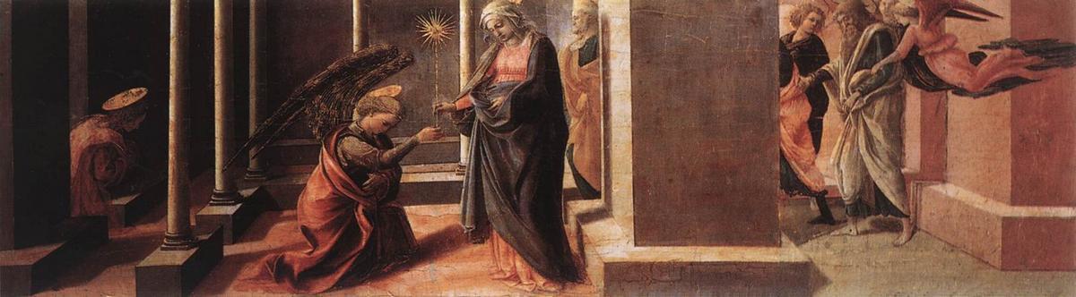 Announcement of the Death of the Virgin - Filippo Lippi