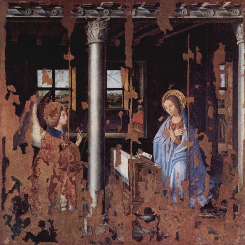 Annunciation - Antonello da Messina