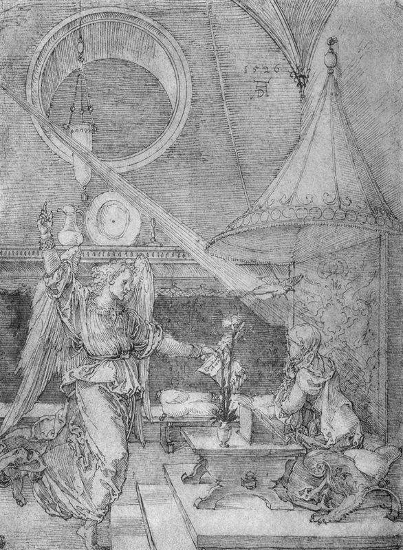 Annunciation - Albrecht Durer