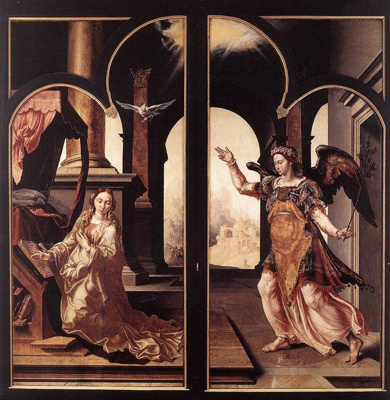 Annunciation - Maerten van Heemskerck