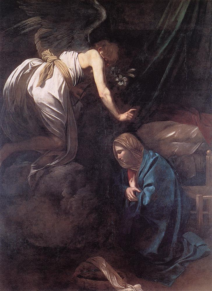 Annunciation - Caravaggio