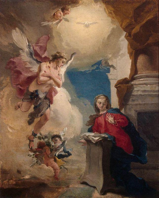 Annunciation - Giovanni Battista Tiepolo