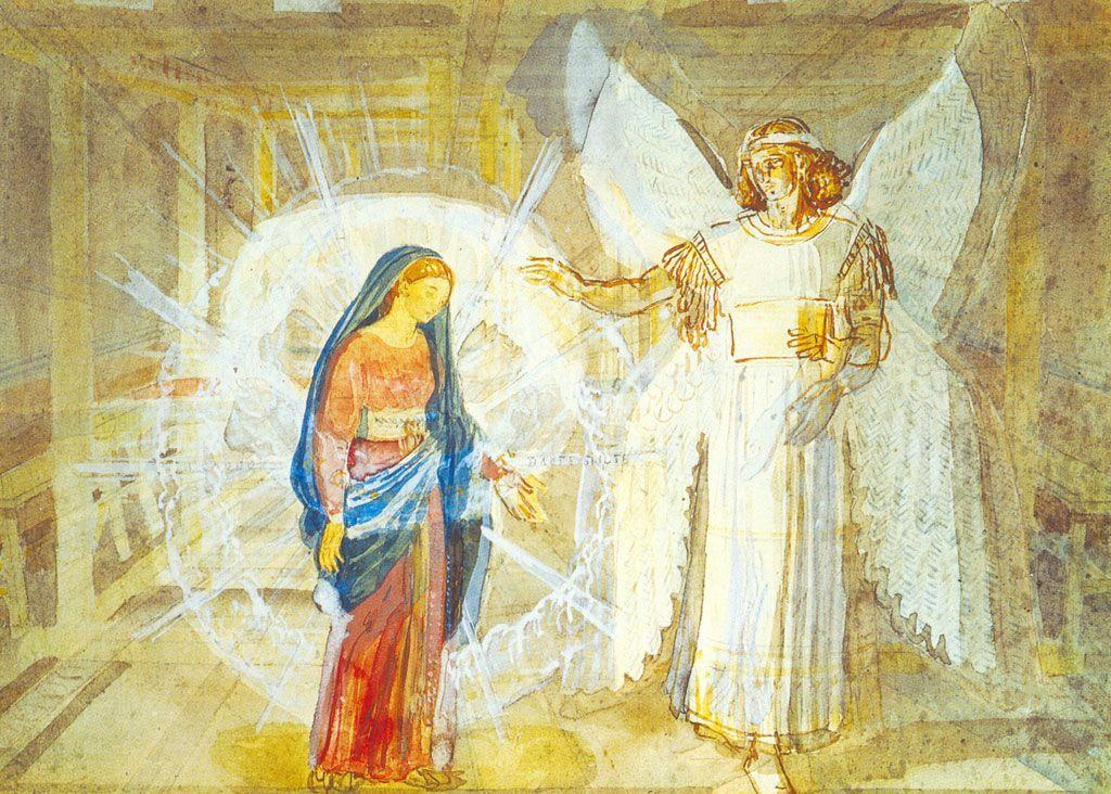 Annunciation - Alexander Ivanov