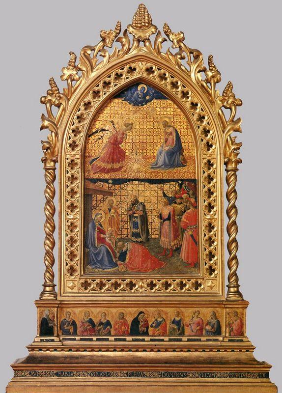 Annunciation and Adoration of the Magi - Fra Angelico
