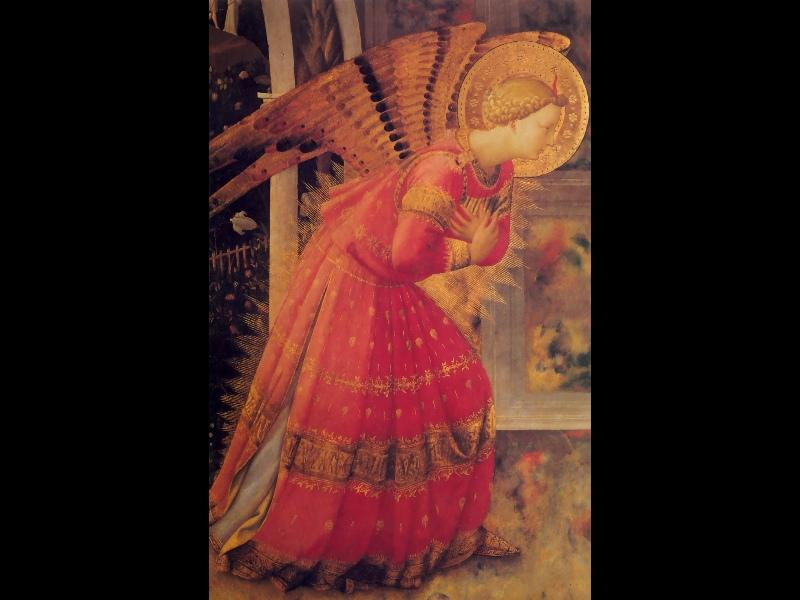 Annunciation (detail) - Fra Angelico