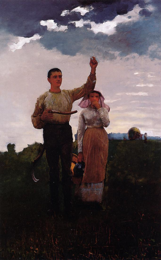 Answering the Horn - Winslow Homer