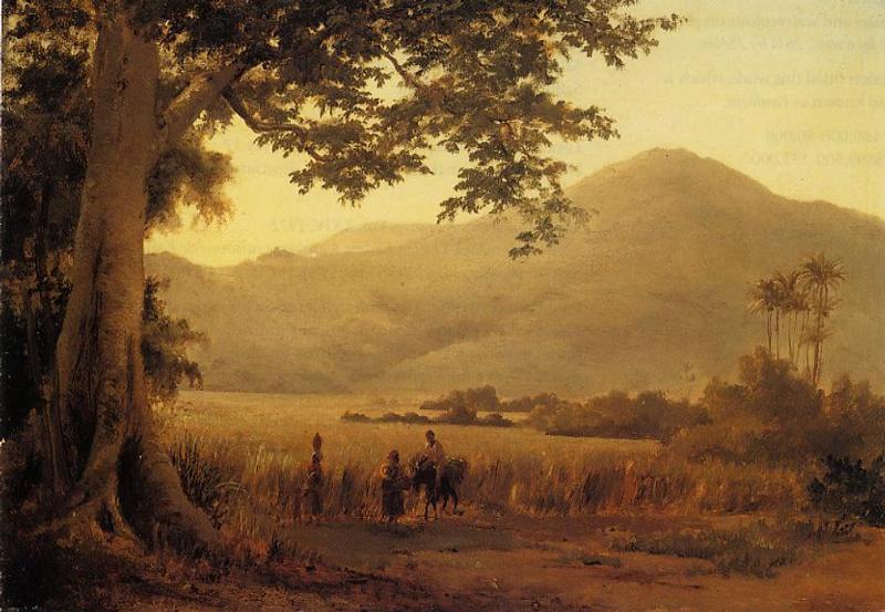 Antilian Landscape, St. Thomas - Camille Pissarro
