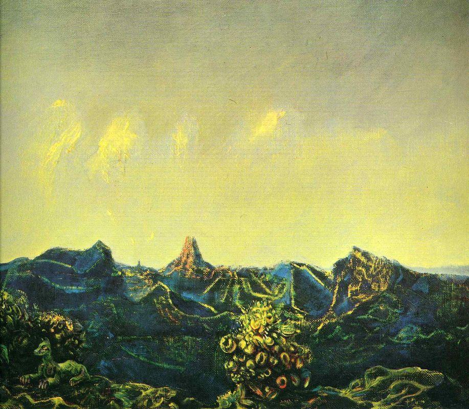 Antipodes of Landscape - Max Ernst