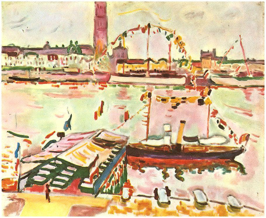 Antwerp Harbor - Georges Braque