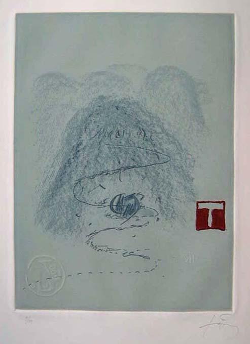 Aparicions 3 - Antoni Tapies