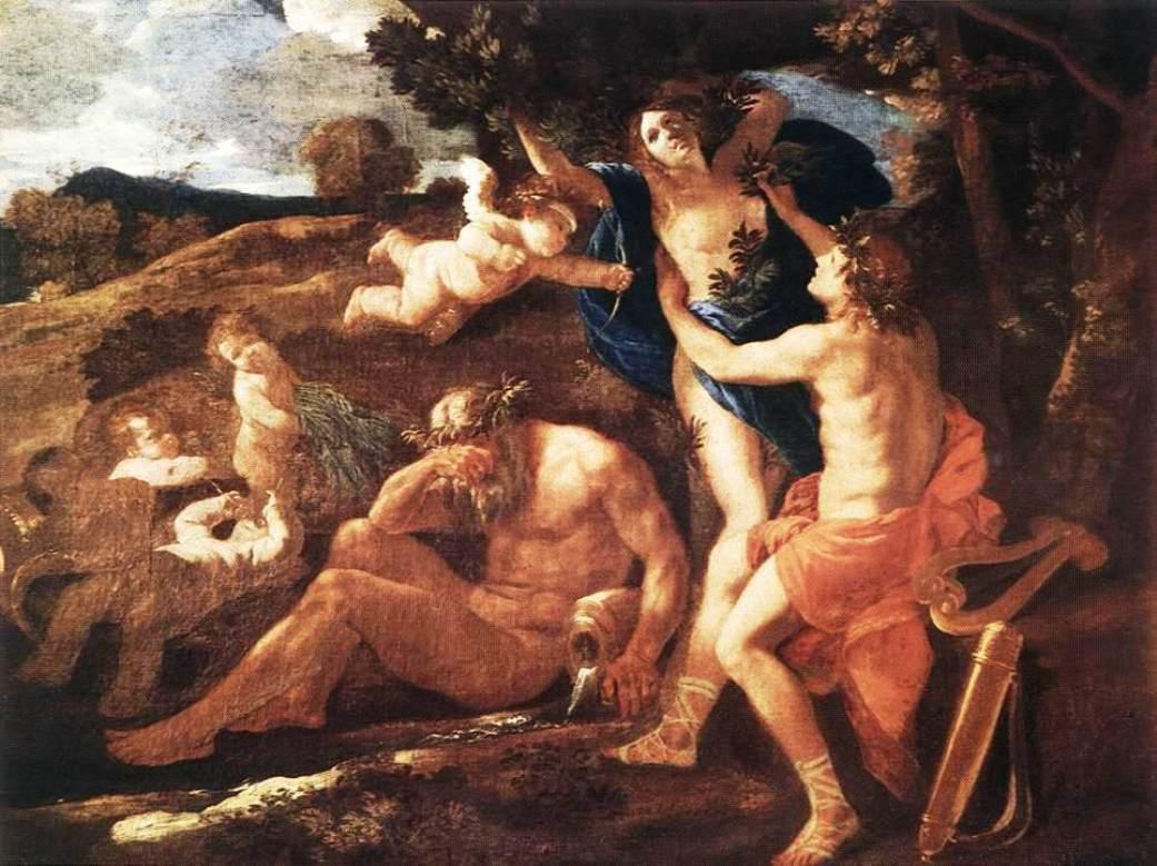 Apollo and Daphne - Nicolas Poussin