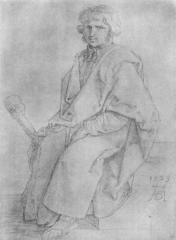 Apostle Judas Thaddeus - Albrecht Durer