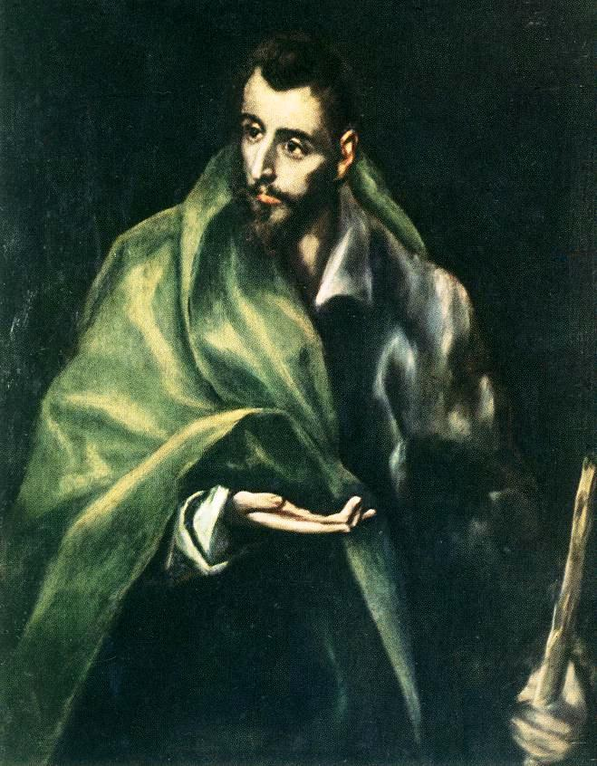 Apostle St. James the Greater - El Greco