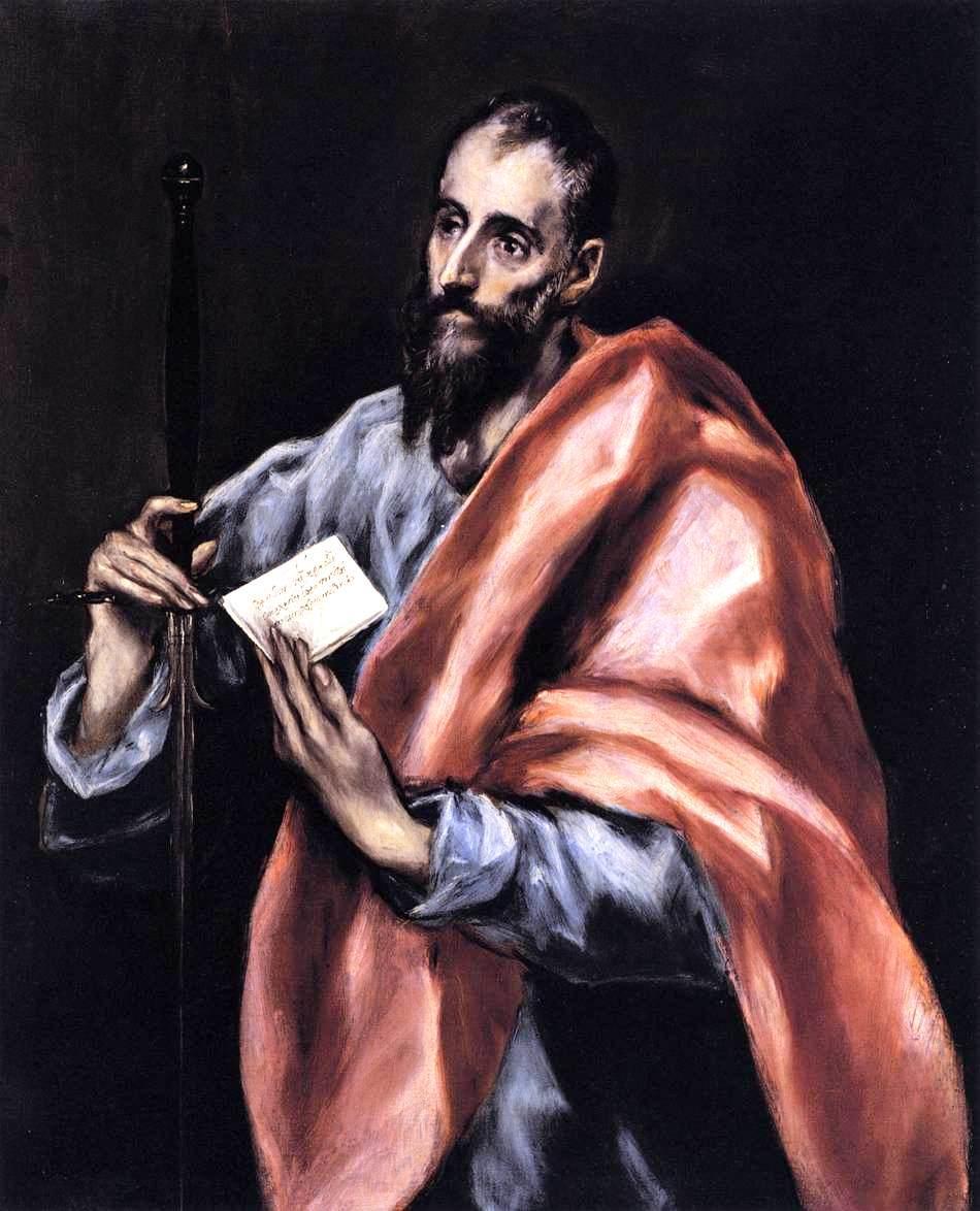 Apostle St. Paul - El Greco