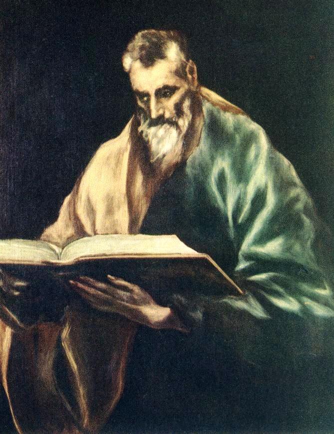 Apostle St. Simon - El Greco