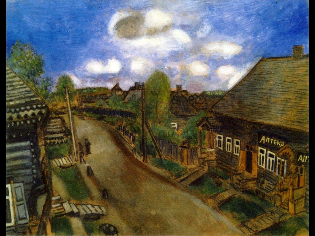 Apothecary in Vitebsk - Marc Chagall