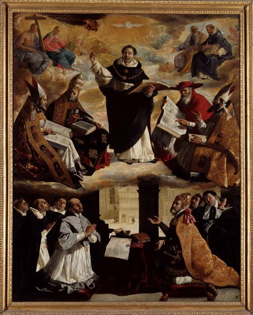 Apotheosis of St. Thomas Aquinas - Francisco de Zurbaran