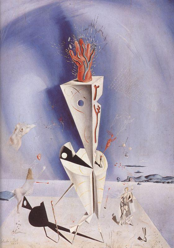 Apparatus and Hand - Salvador Dali