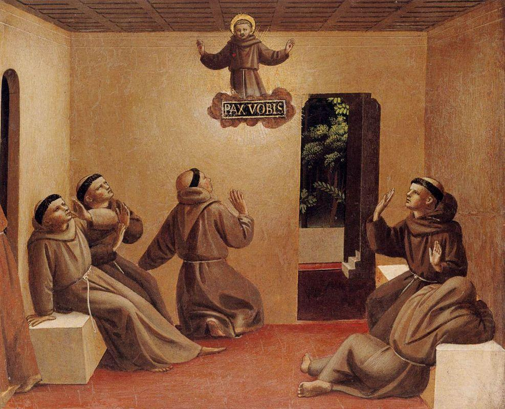 Apparition of St. Francis at Arles - Fra Angelico
