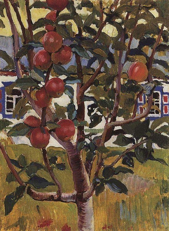 Apple tree - Zinaida Serebriakova