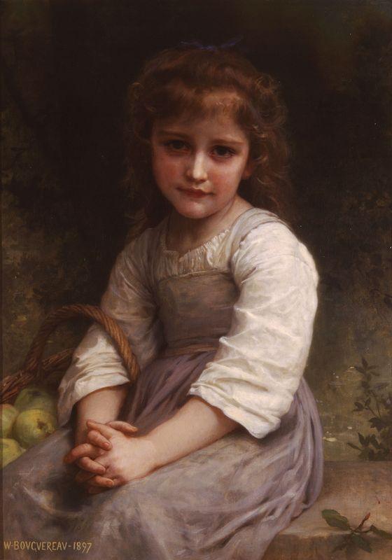 Apples - William-Adolphe Bouguereau