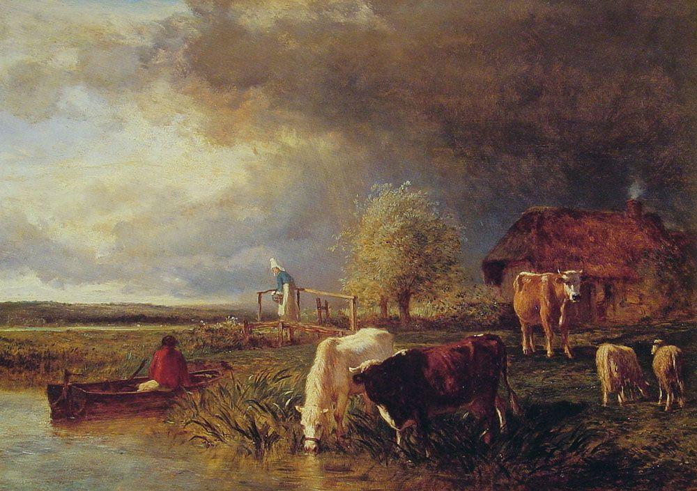 Approaching Storm - Albert Bierstadt