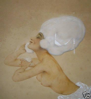 Aquatinte - Raphael Kirchner