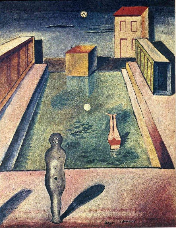 Aquis submersus - Max Ernst
