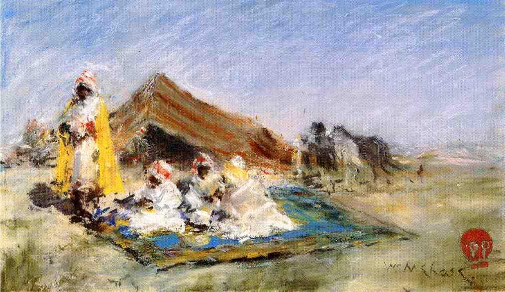 Arab Encampment - William Merritt Chase