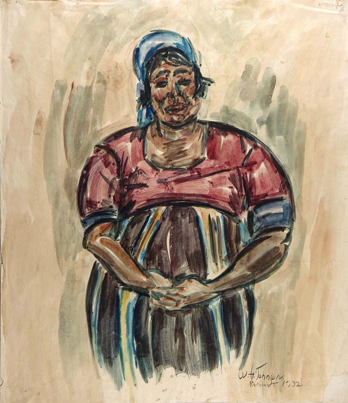 Arab Woman, Kairouan - William H. Johnson