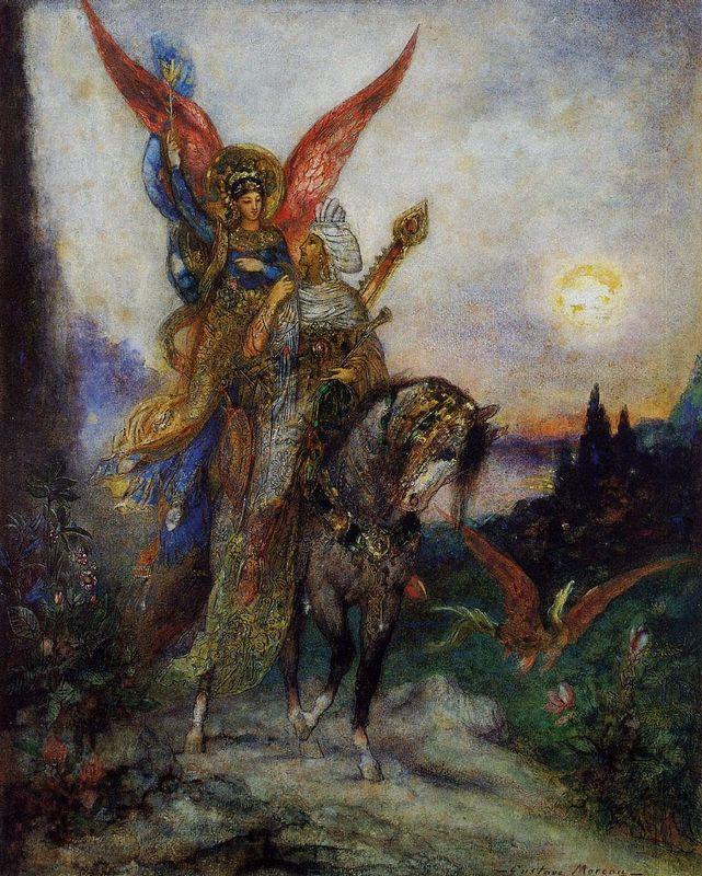 Arabian Poet (Persian) - Gustave Moreau