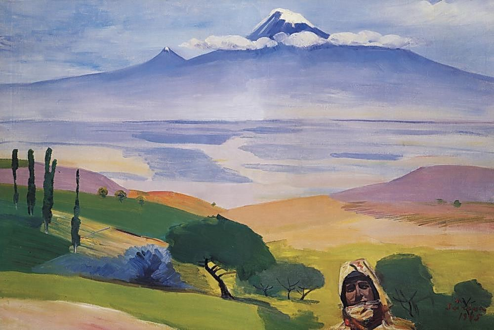 Ararat valley - Martiros Saryan