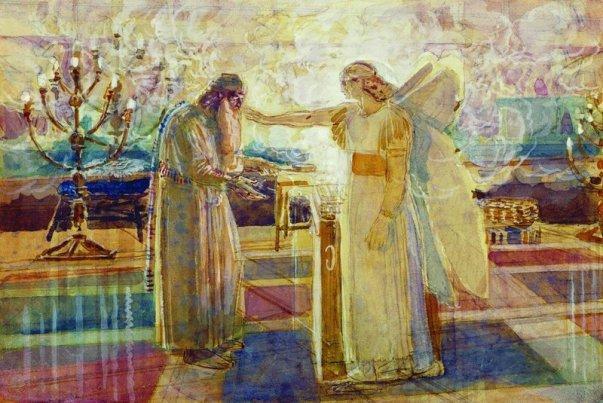 Archangel Gabriel struck Zechariah mute - Alexander Ivanov