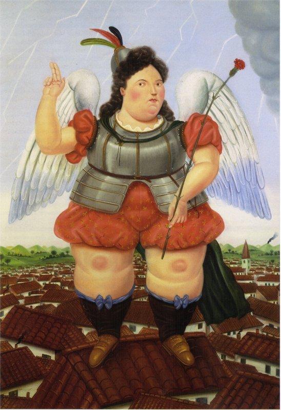 Archangel - Fernando Botero