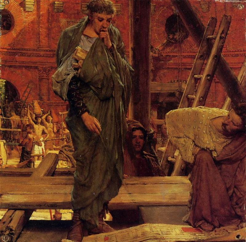 Architecture in Ancient Rome - Sir Lawrence Alma-Tadema
