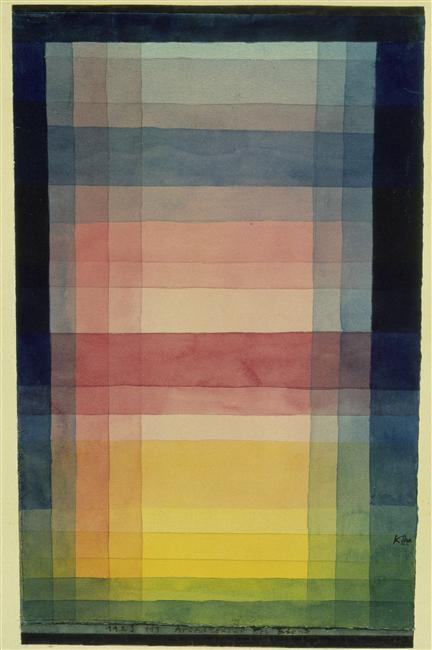 Architecture of the Plain - Paul Klee