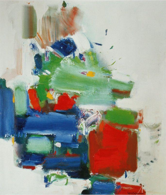 Art Like Love Is Dedication - Hans Hofmann