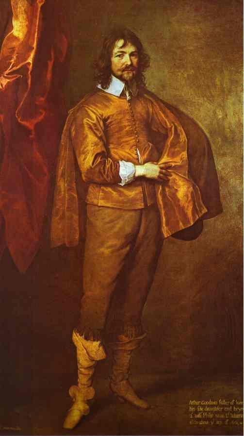 Arthur Goodwin, M.P. (oil on canvas) - Anthony van Dyck