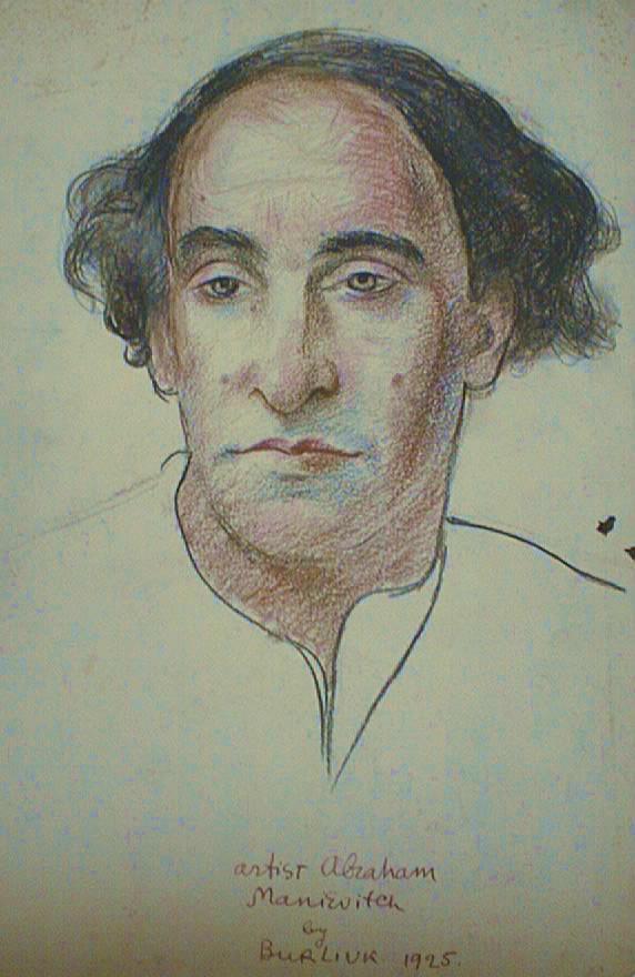 Artist Abraham Manievitch - David Burliuk