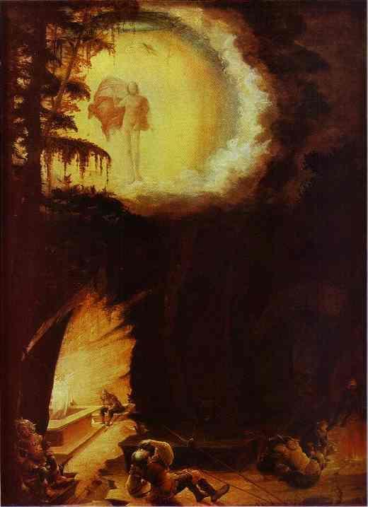 Ascension of Christ - Albrecht Altdorfer