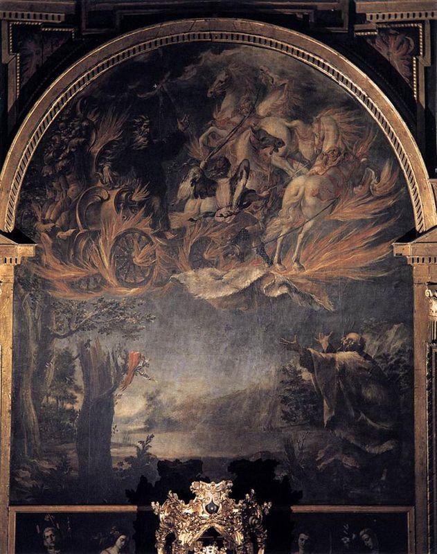 Ascension of Elijah - Juan de Valdes Leal